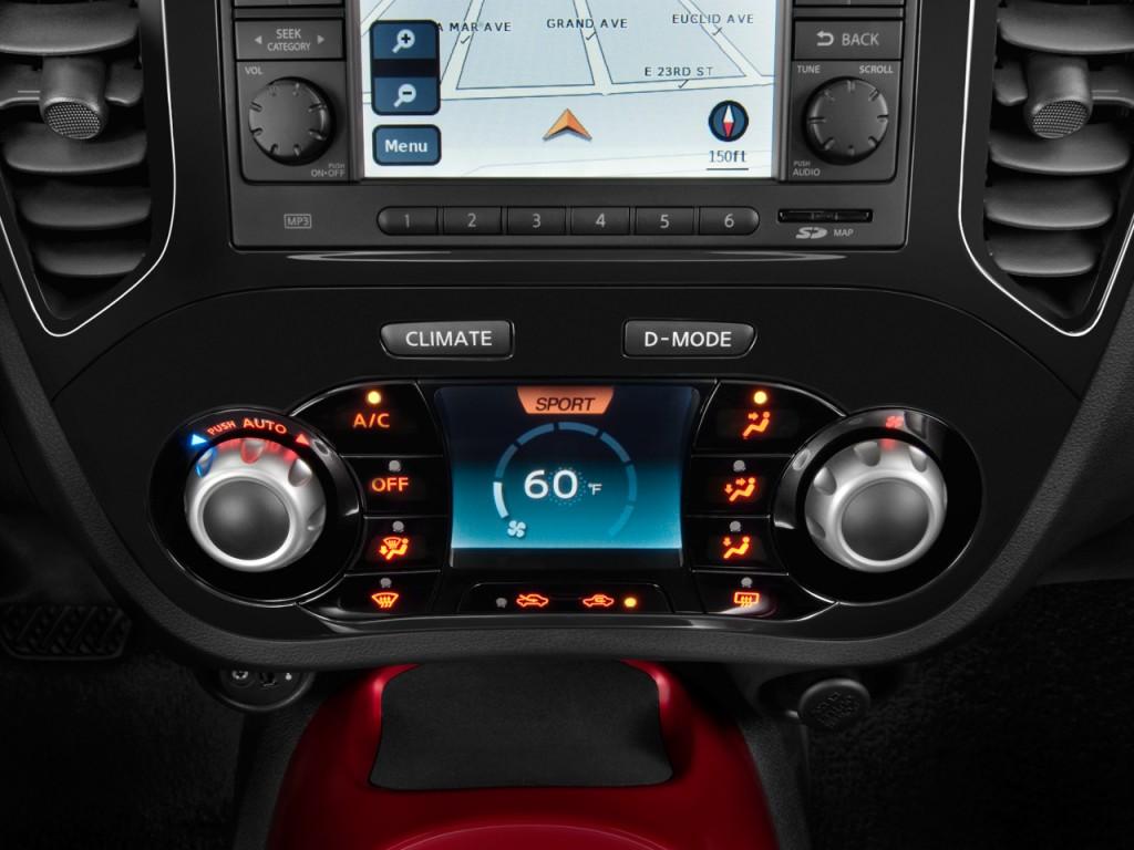 Temperature Controls 2011 Nissan Juke AWD 5dr Wagon I4 CVT SV #106D89