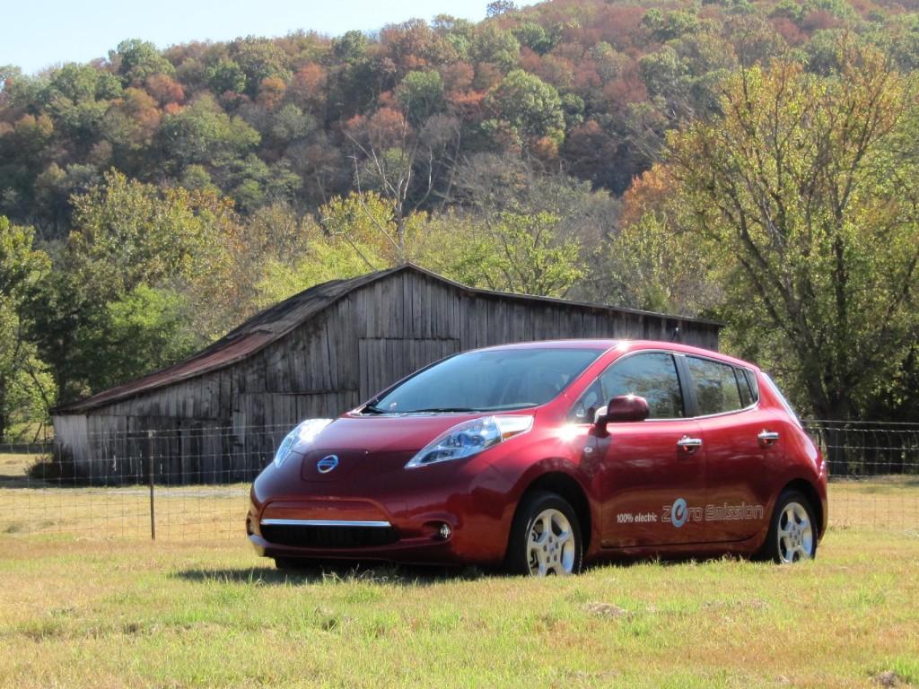 2011 Nissan Leaf, Nashville, October 2010