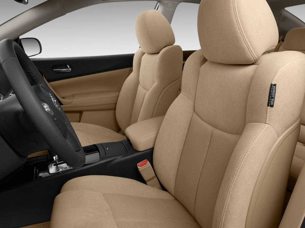Image: 2011 Nissan Maxima 4-door Sedan V6 CVT 3.5 S Front ...