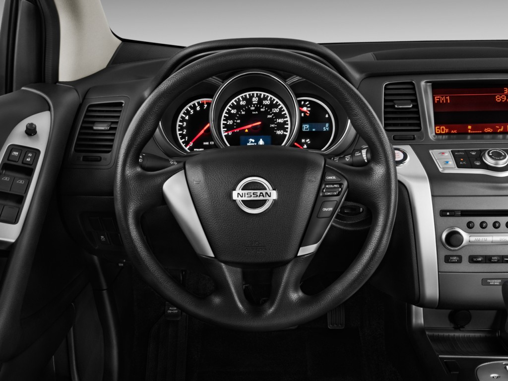 image 2011 nissan murano 2wd 4 door s steering wheel size 1024 x 768 type gif posted on. Black Bedroom Furniture Sets. Home Design Ideas