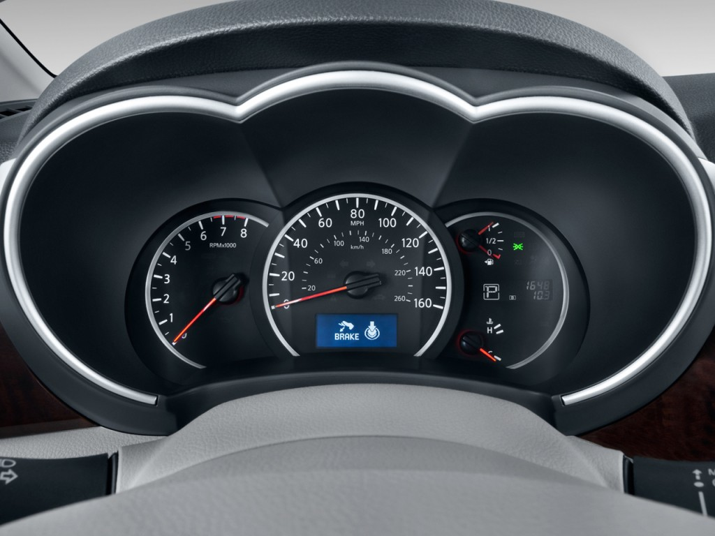image 2011 nissan quest 4 door le instrument cluster. Black Bedroom Furniture Sets. Home Design Ideas