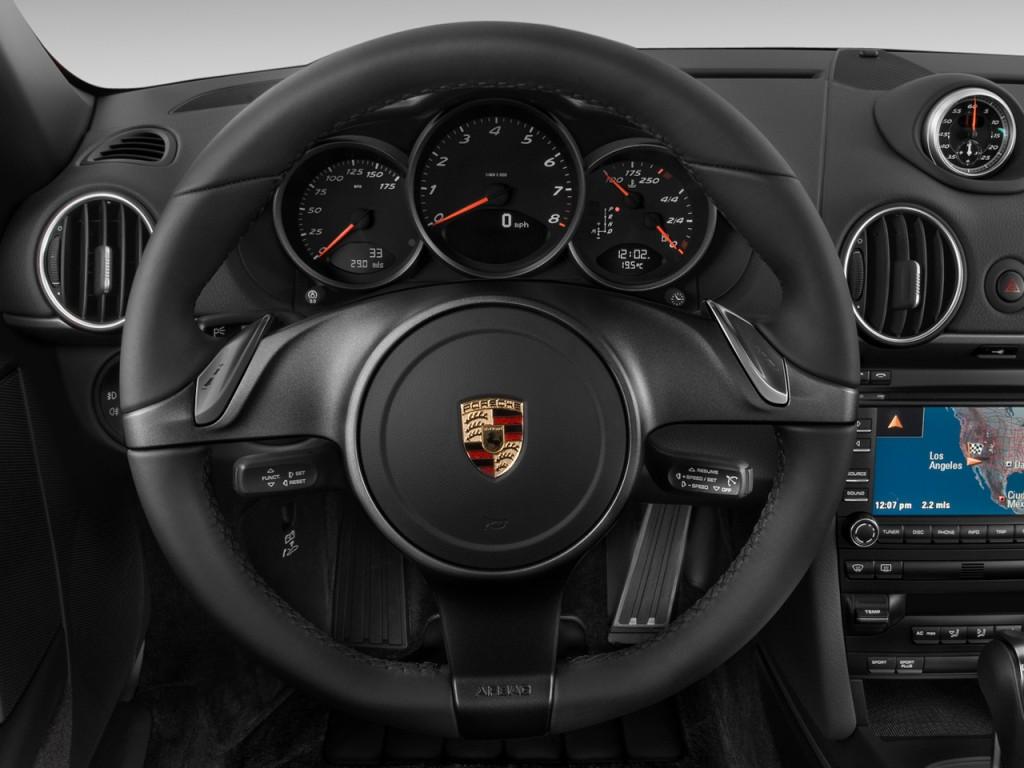 Image 2011 Porsche Cayman 2 Door Coupe Steering Wheel