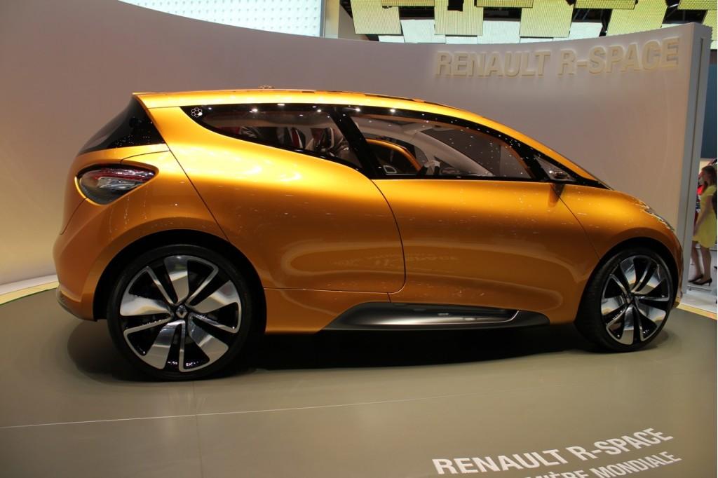 2011 Renault R-Space Concept Live Photos: 2011 Geneva Motor Show