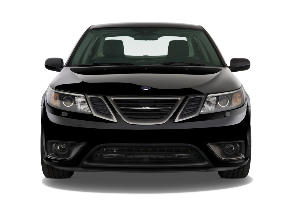 image 2011 saab 9 3 4 door sedan aero xwd front exterior. Black Bedroom Furniture Sets. Home Design Ideas