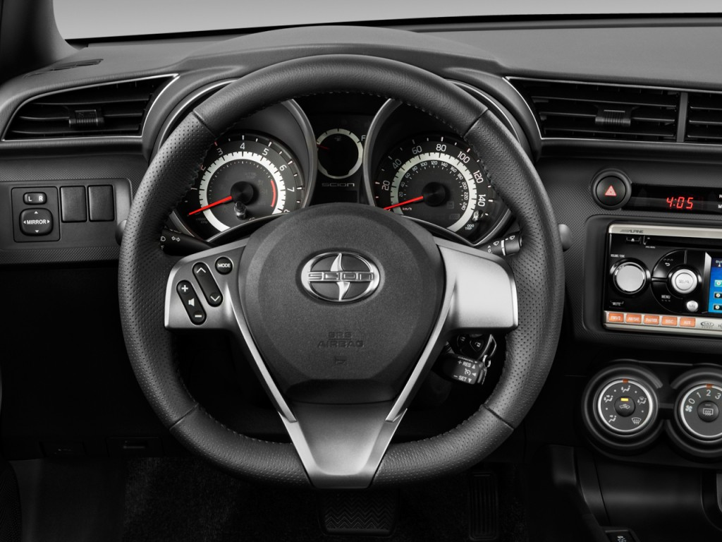 image 2011 scion tc 2 door hb man natl steering wheel size 1024 x 768 t. Black Bedroom Furniture Sets. Home Design Ideas