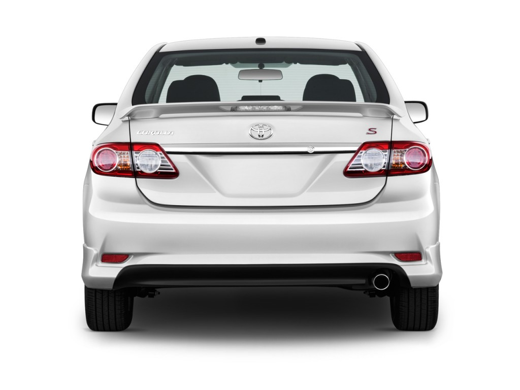 Image 2011 Toyota Corolla 4 Door Sedan Auto S Natl Rear