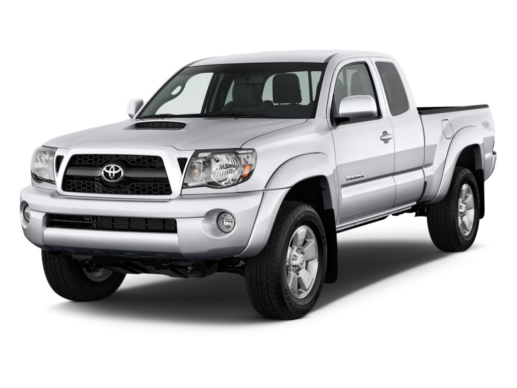 2011 Toyota Tacoma 2WD Access V6 AT PreRunner (Natl) Angular Front Exterior View