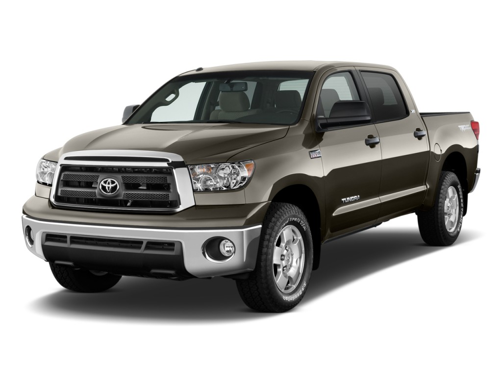 2011 Toyota Tundra Angular Front Exterior View