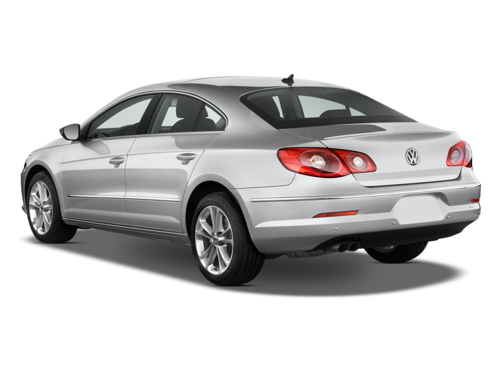 2011 Volkswagen CC 4-door Sedan Lux Angular Rear Exterior View