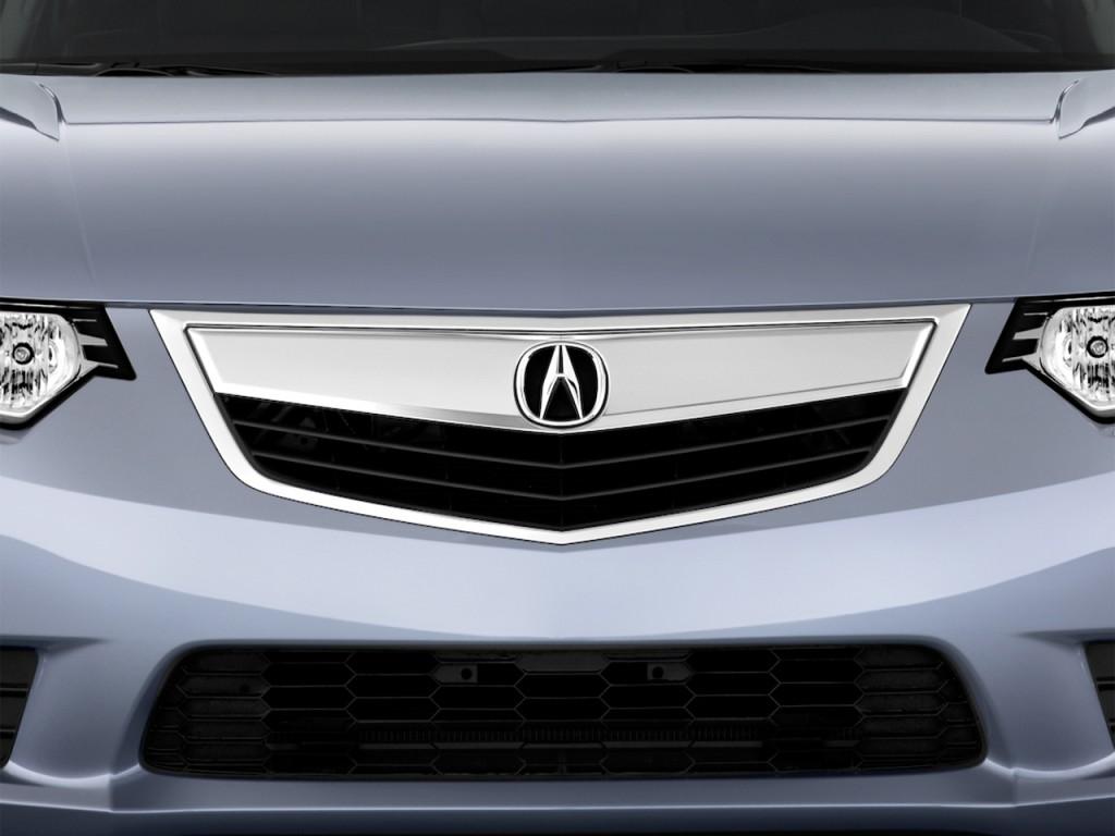 Image: 2012 Acura TSX 5dr Sport Wagon I4 Auto Tech Pkg Grille, size ...