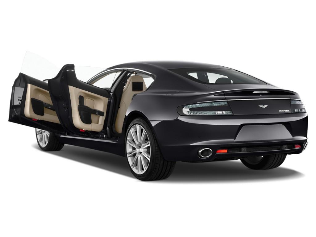 Image 2012 Aston Martin Rapide 4 Door Sedan Auto Open