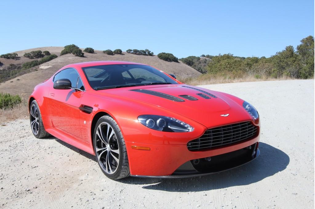 2012 Aston Martin V12 Vantage Carbon Edition