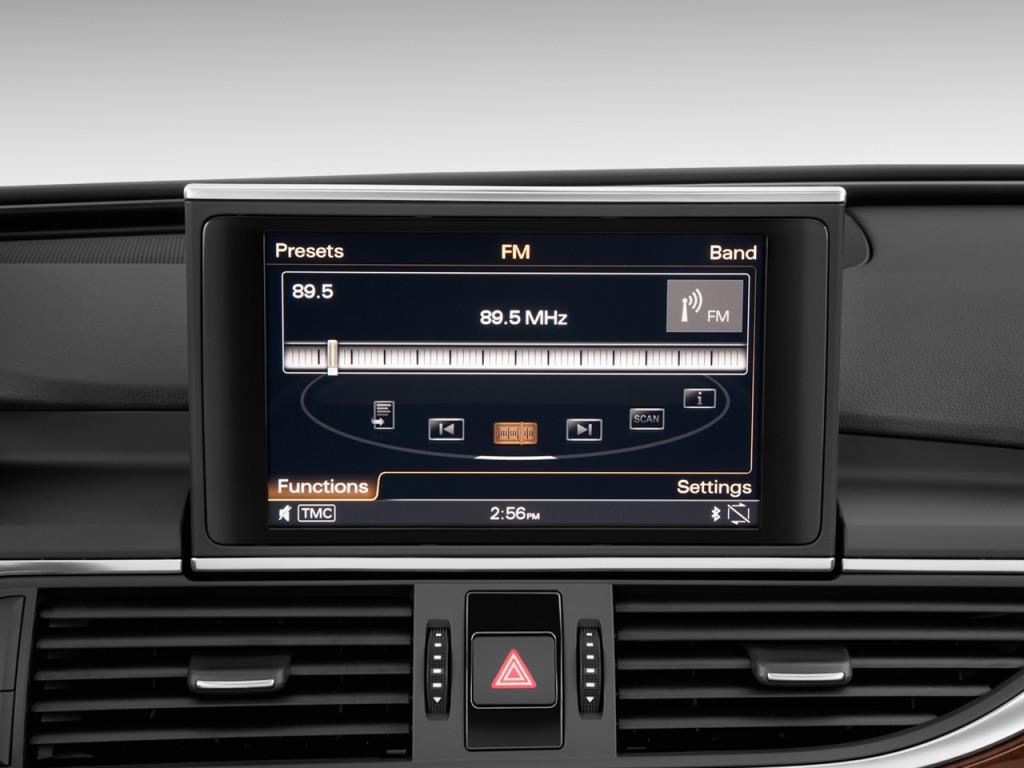 image 2012 audi a6 4 door sedan fronttrak 2 0t premium plus audio system size 1024 x 768. Black Bedroom Furniture Sets. Home Design Ideas