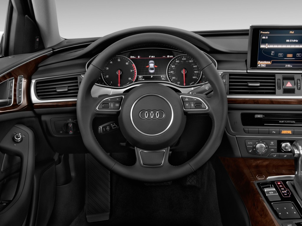 image 2012 audi a6 4 door sedan fronttrak 2 0t premium plus steering wheel size 1024 x 768. Black Bedroom Furniture Sets. Home Design Ideas