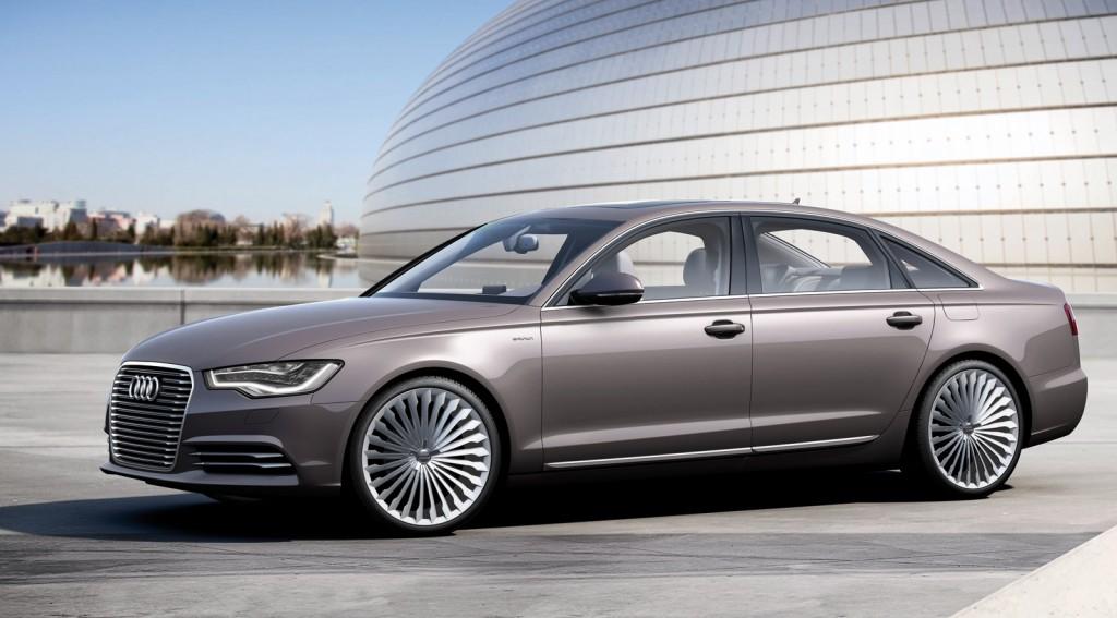 2012 Audi A6 L e-tron concept