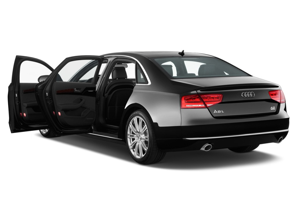 Image 2012 Audi A8 L 4 Door Sedan Open Doors Size 1024