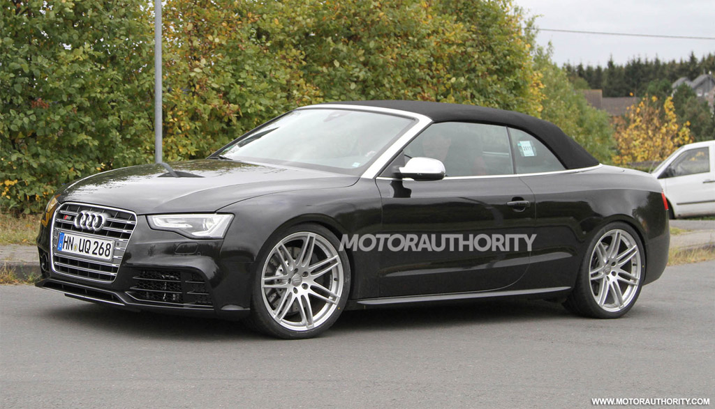 2013 Audi Rs5 Cabriolet Likely Headed To The U S