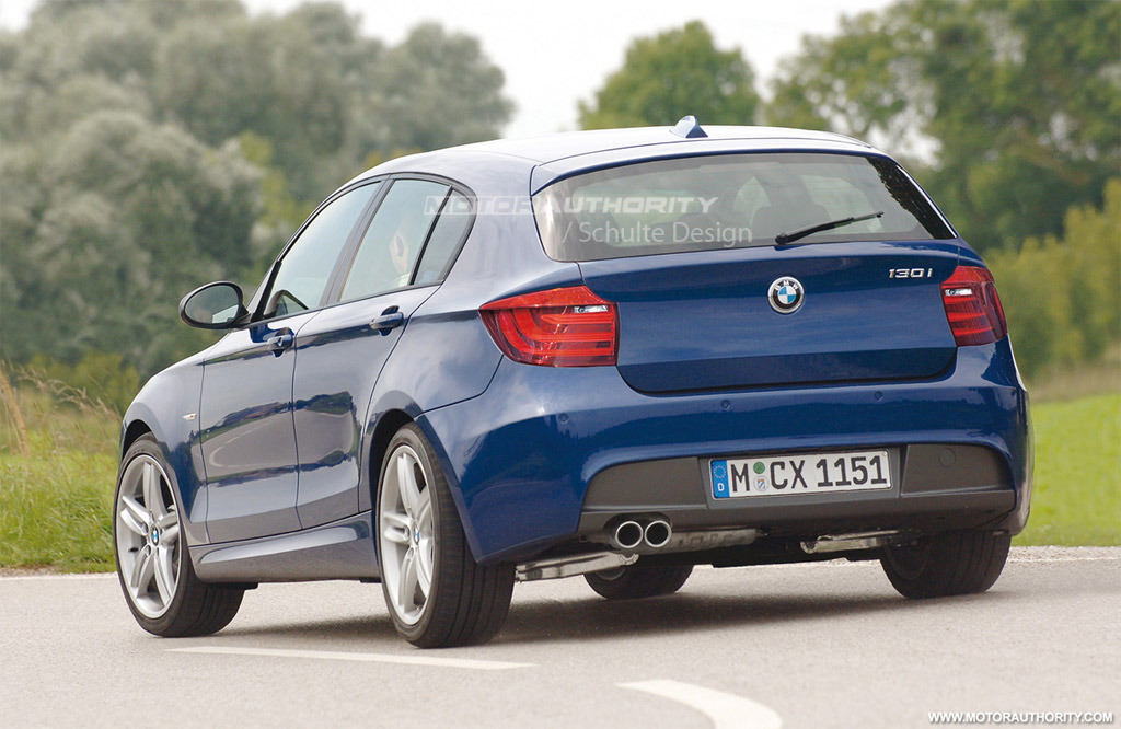 Image 2012 Bmw 1 Series Hatchback Rendering Size 1024 X