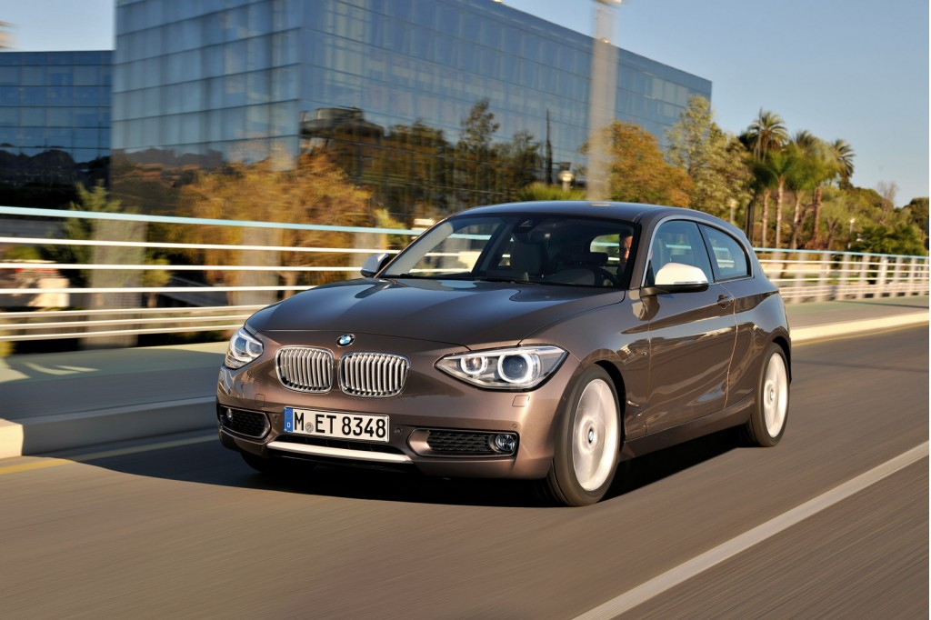 2012 BMW 1-Series Hatchback (three-door)