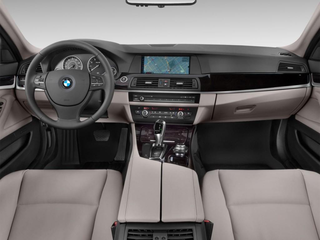 Image 2012 Bmw 5 Series 4 Door Sedan 535i Rwd Dashboard