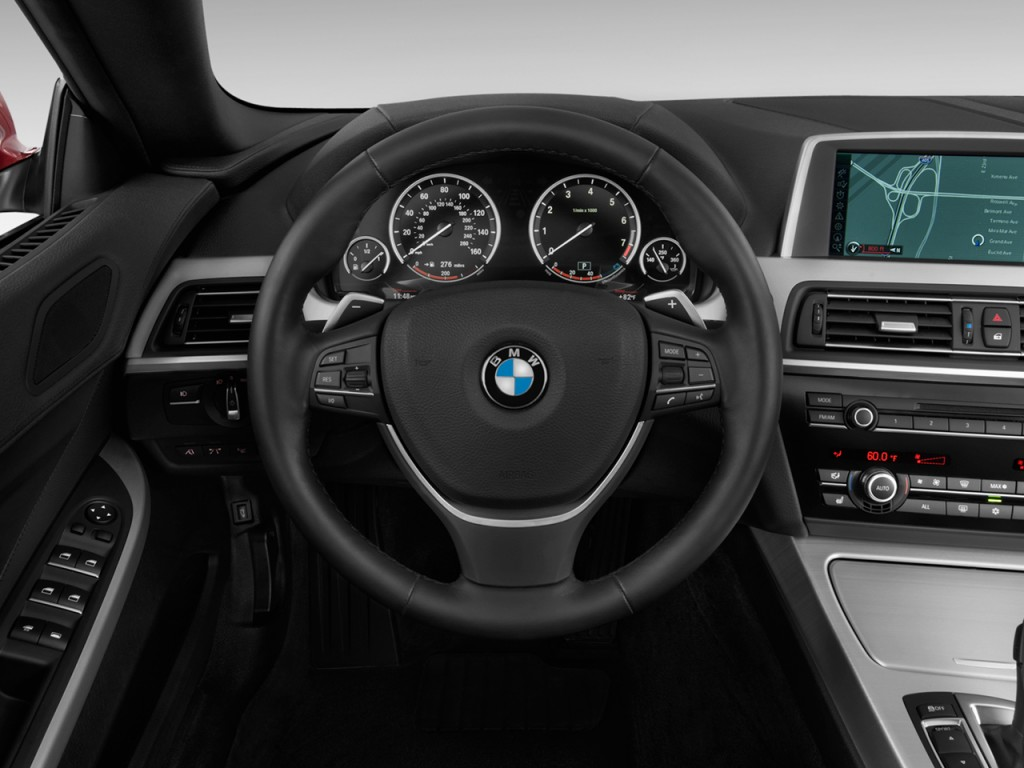Image 2012 Bmw 6 Series 2 Door Convertible 650i Steering
