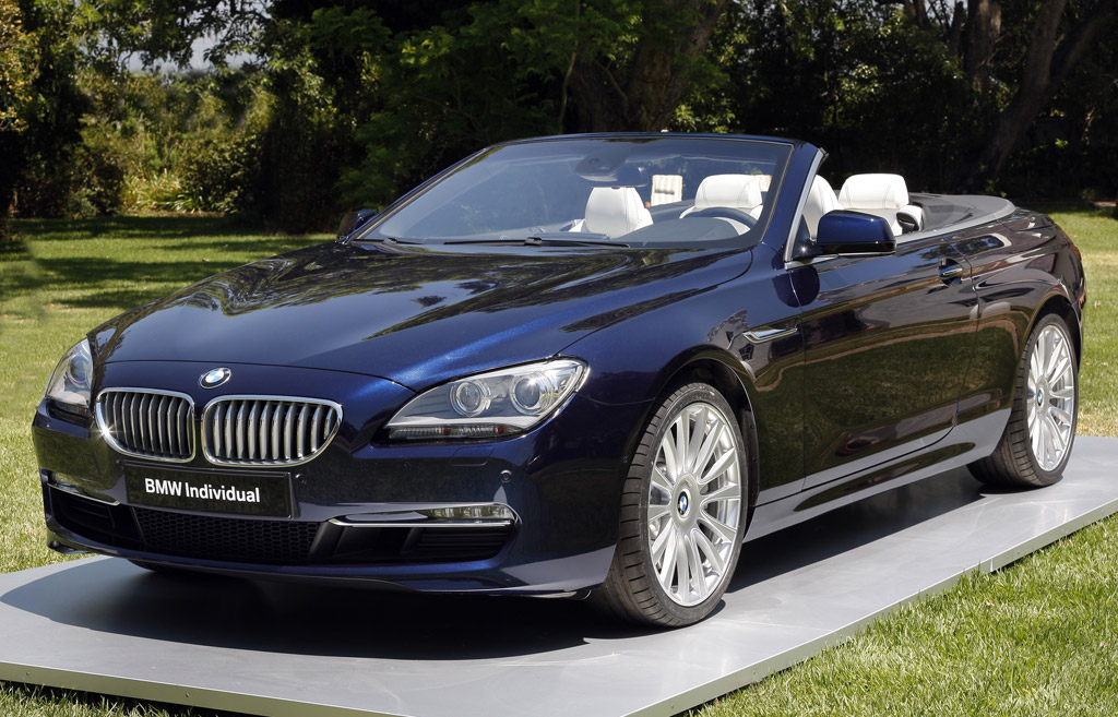 2012 Bmw 6 Series Convertible Worked Over By Bmw Individual