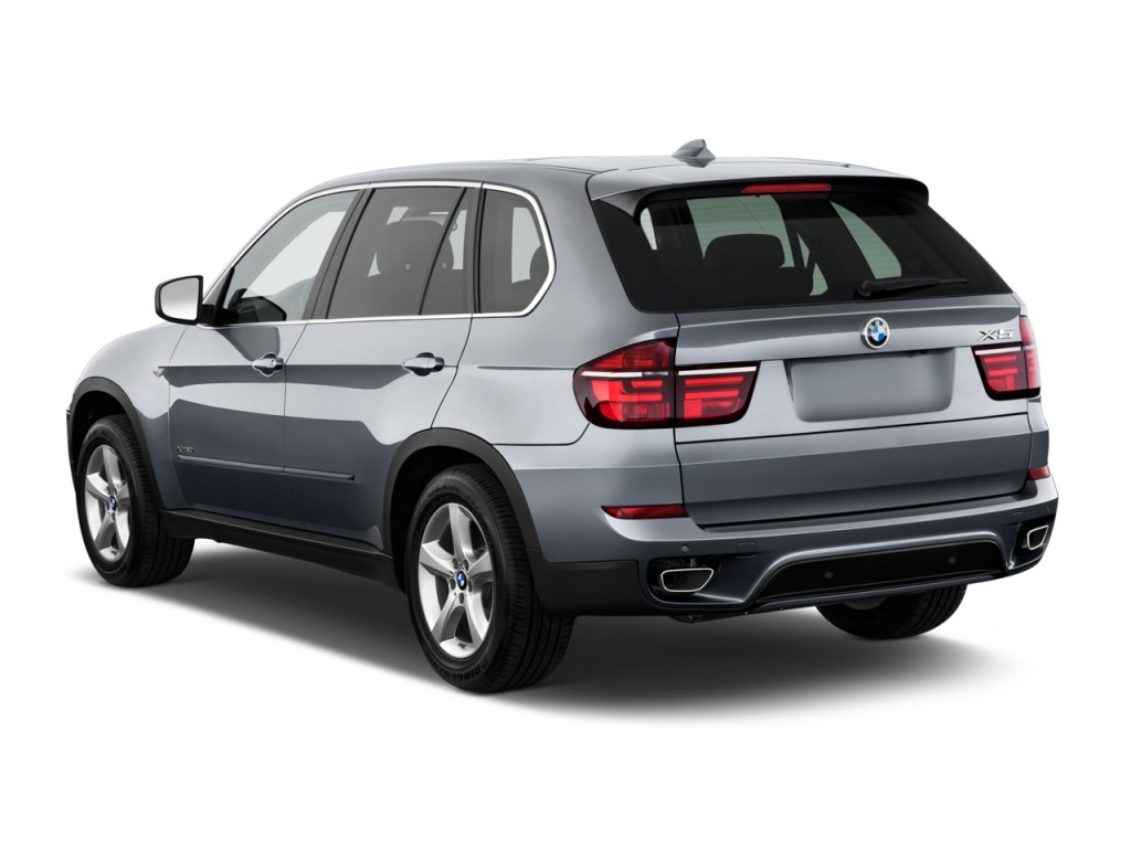 2012 BMW X5 AWD 4-door 50i Angular Rear Exterior View