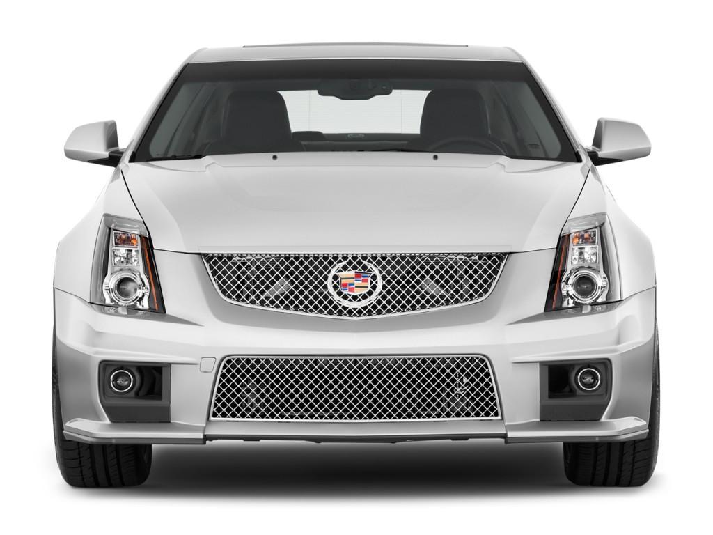 Image 2012 Cadillac Cts V 4 Door Sedan Front Exterior