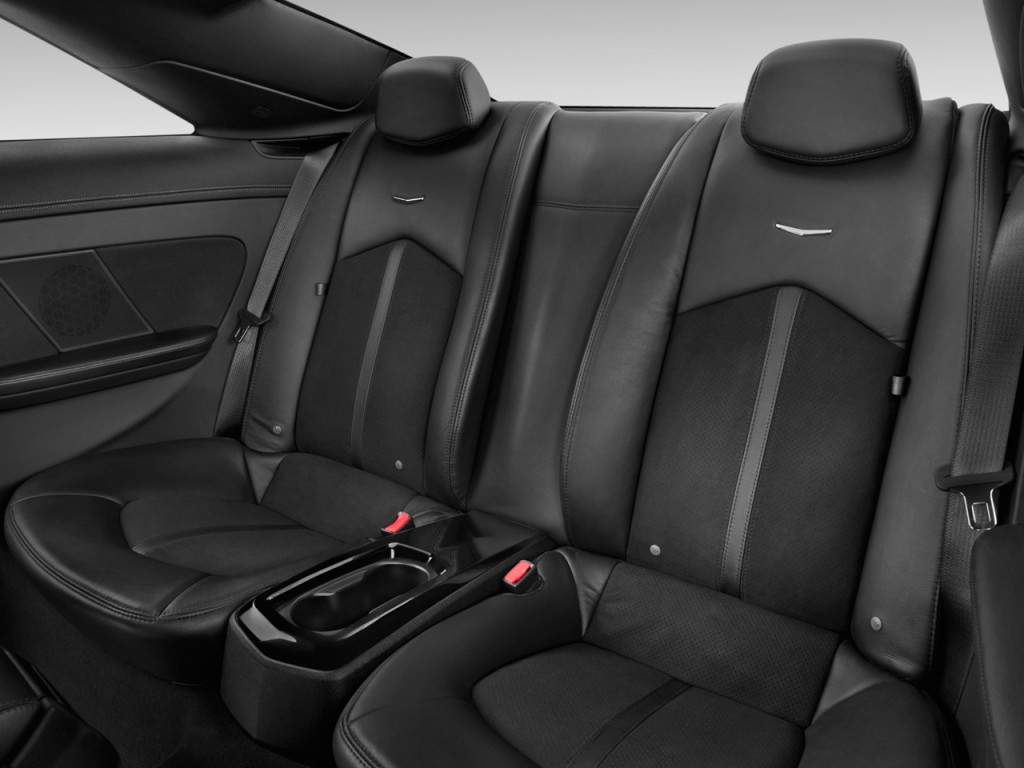 Image 2012 cadillac cts v coupe 2 door coupe rear seats for Interior back doors