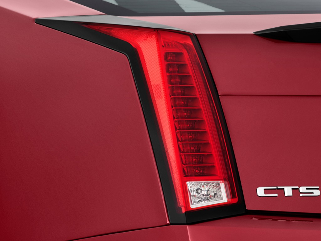 2014 Cadillac Cts For Sale >> Image: 2012 Cadillac CTS-V Coupe 2-door Coupe Tail Light ...
