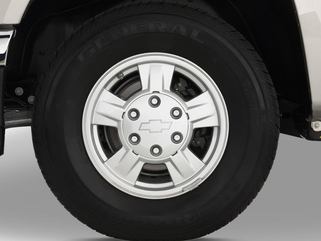 Image: 2012 Chevrolet Colorado 2WD Crew Cab LT w/2LT Wheel ...