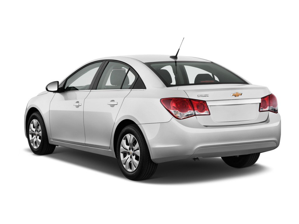 Used 2014 Chevy Impala >> Image: 2012 Chevrolet Cruze 4-door Sedan LS Angular Rear ...