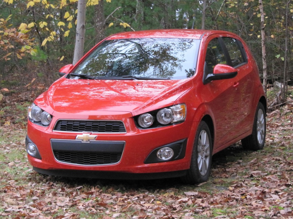 2012 Chevrolet Sonic hatchback, road test, Catskill Mountains, Oct 2011