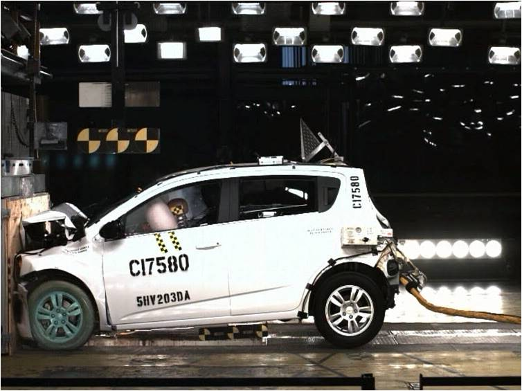 2012 Chevrolet Sonic Earns NHTSA Five-Star Safety Rating