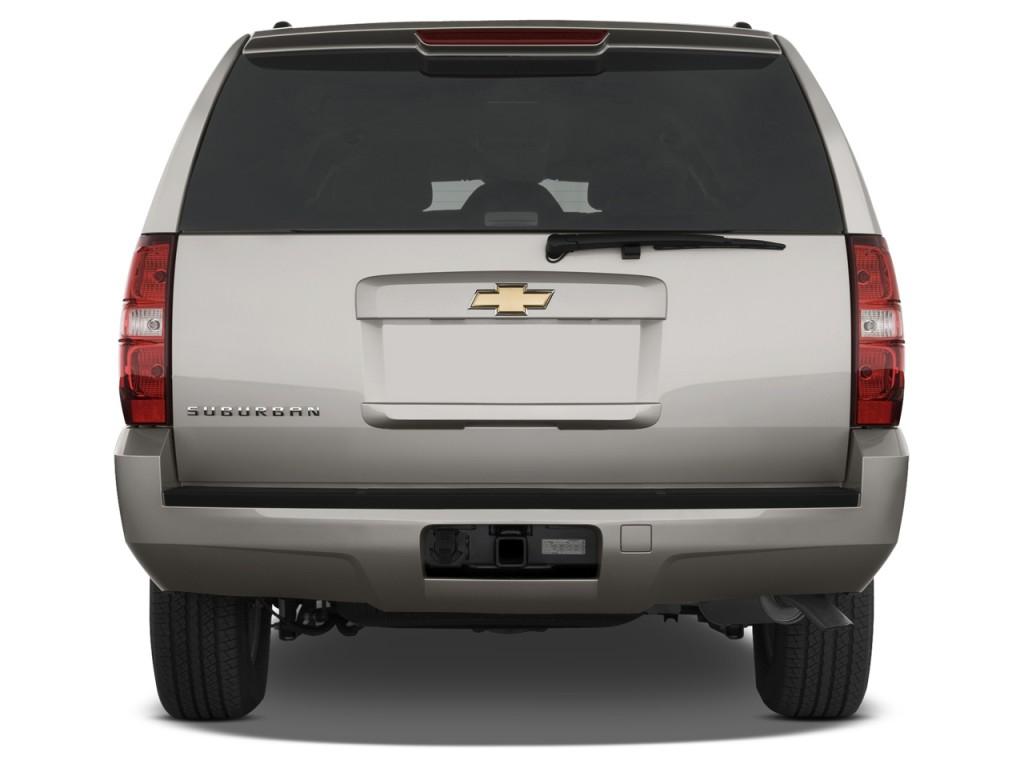 Image 2012 Chevrolet Suburban 2wd 4 Door 1500 Ls Rear
