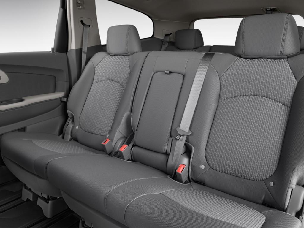 Image: 2012 Chevrolet Traverse FWD 4-door LS Rear Seats ...