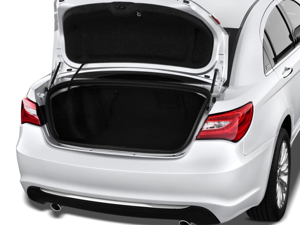 Image 2012 Chrysler 200 4 Door Sedan Limited Trunk Size