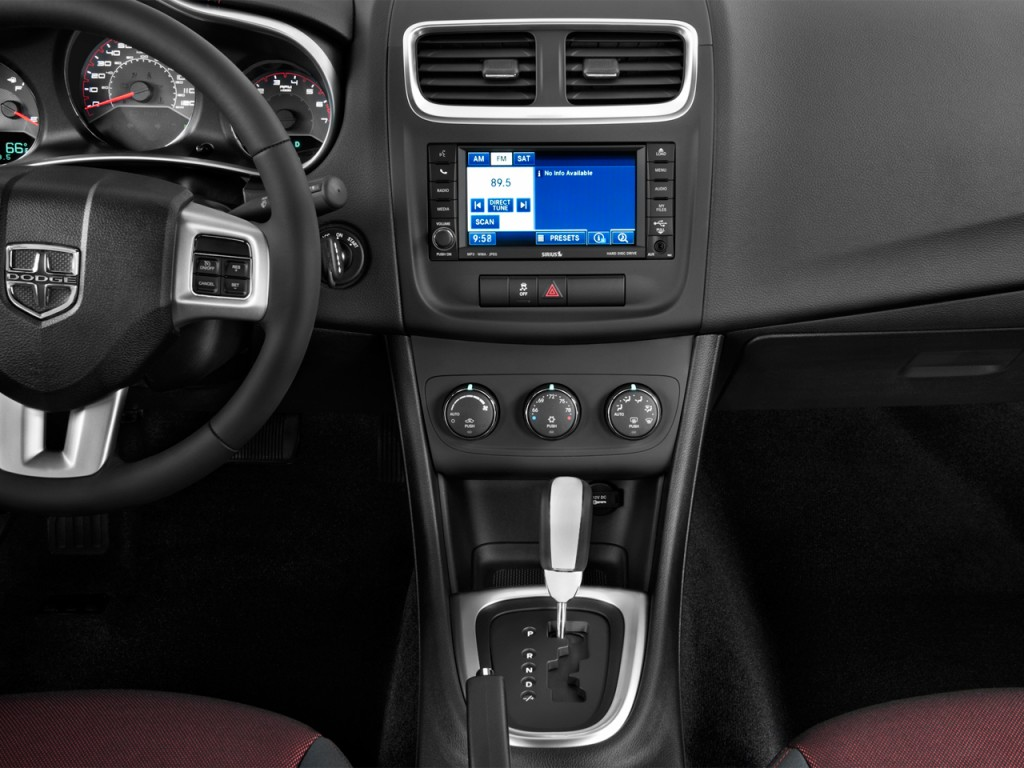 Image 2012 Dodge Avenger 4 Door Sedan Sxt Instrument