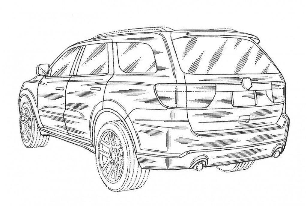 100305258 2012 Dodge Durango Magnum Uspto Images together with  on dodge br3500