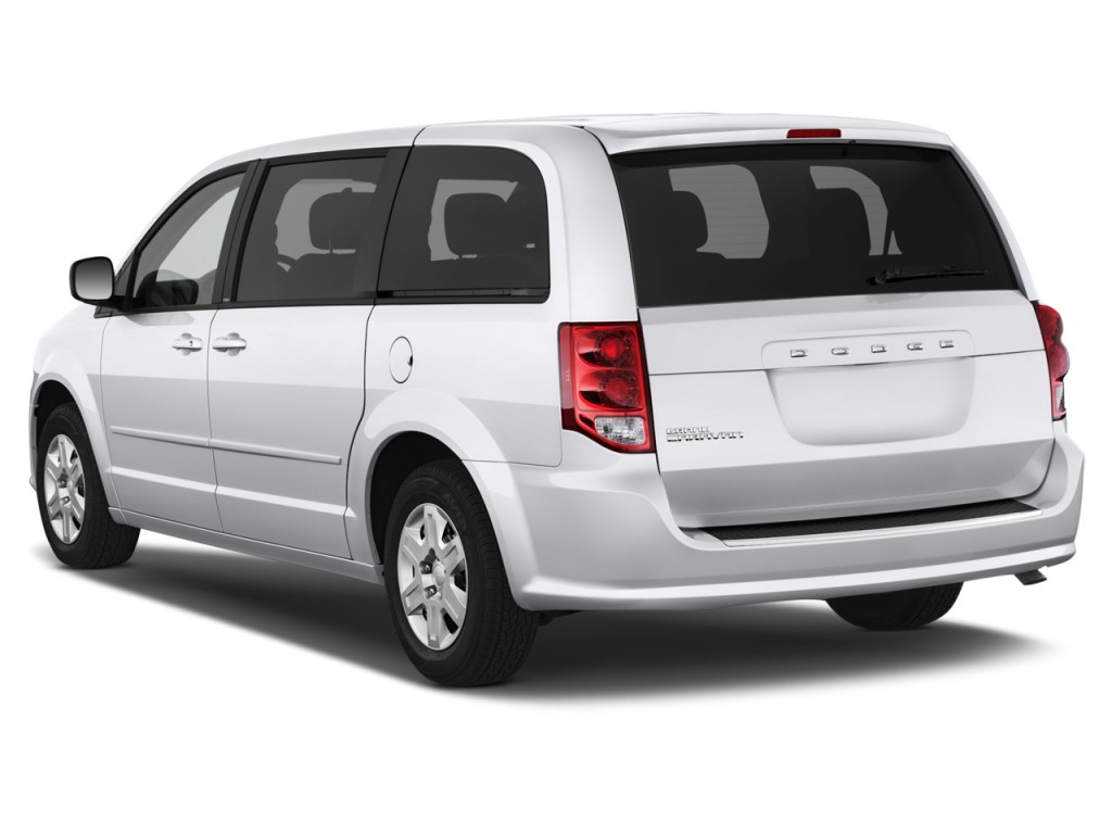 2012 Dodge Grand Caravan 4-door Wagon SE Angular Rear Exterior View
