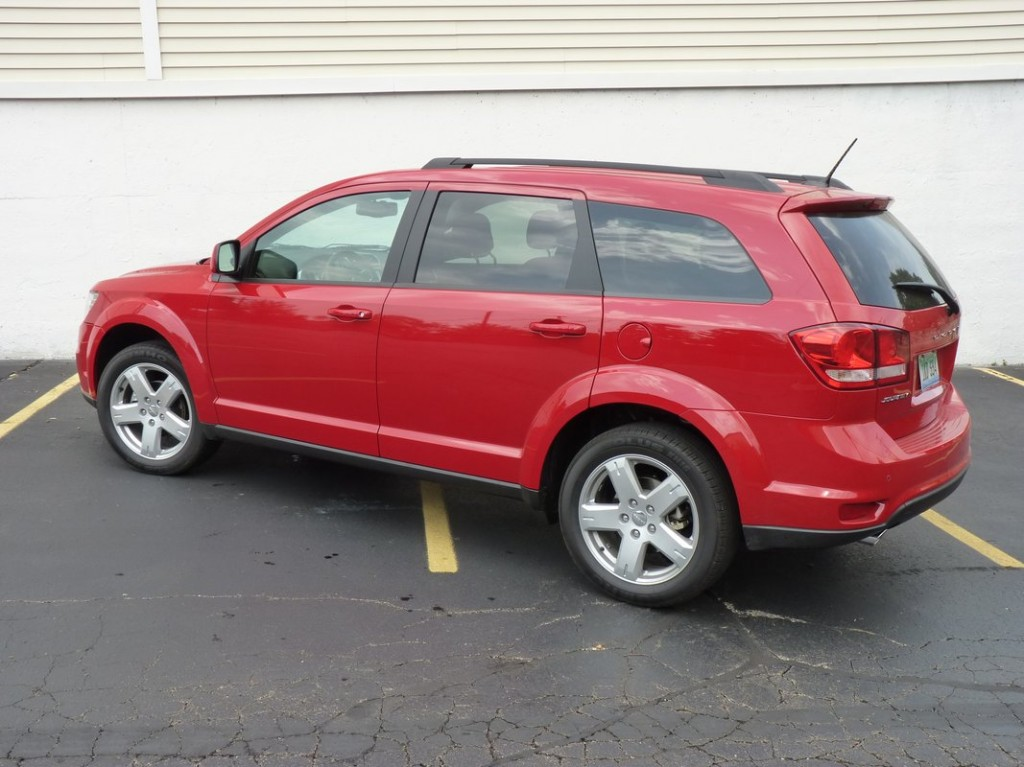 2012 Dodge Journey SXT  -  Driven, July 2012