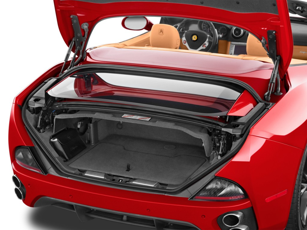 image 2012 ferrari california 2 door convertible trunk. Black Bedroom Furniture Sets. Home Design Ideas