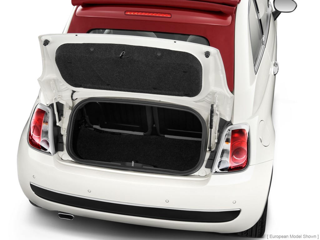 Fiat 500 Abarth Trunk Image: 2012 FIA...