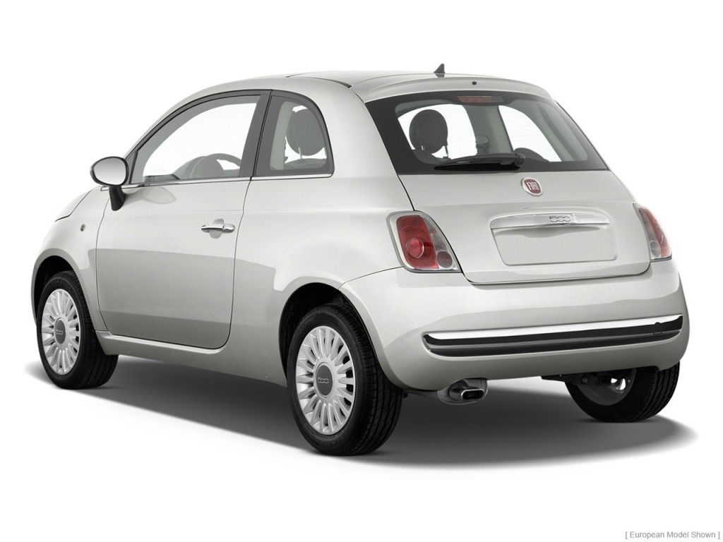 Image 2012 Fiat 500 2 Door Hb Lounge Angular Rear
