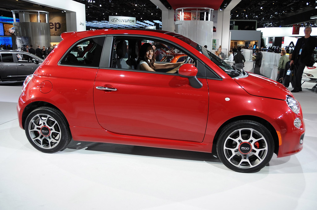 2012 Fiat 500 live photos. Photo by Joe Nuxoll.