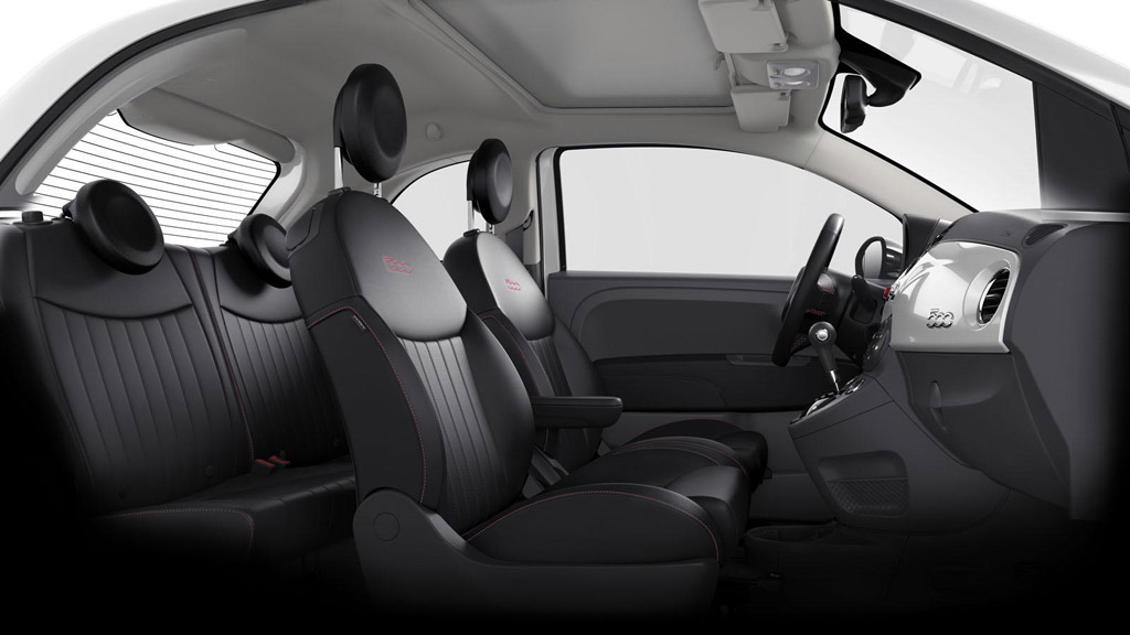 2012 Fiat 500 Pink Ribbon Edition