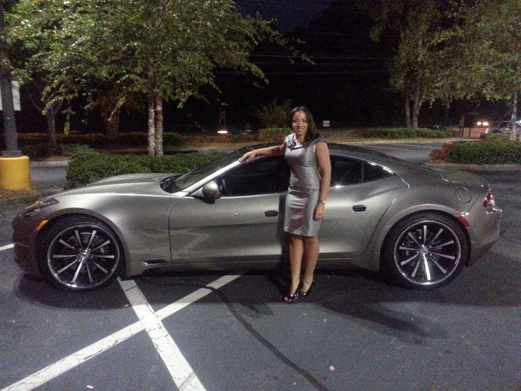Image: 2012 Fisker Karma with owner Amanda Pearson, Sandy Springs, GA, Oct 2013, size: 1024 x ...