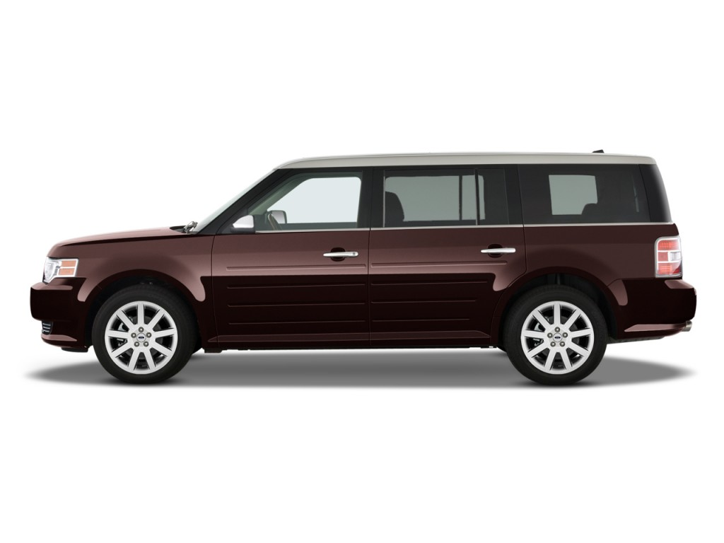 2012 Ford Flex 4-door Limited FWD Side Exterior View