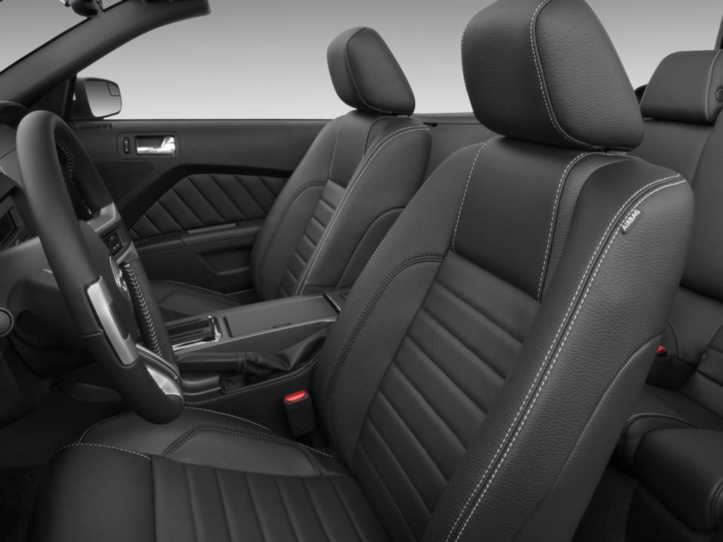 Ford Mustang Door Convertible Gt Premium Front Seats L