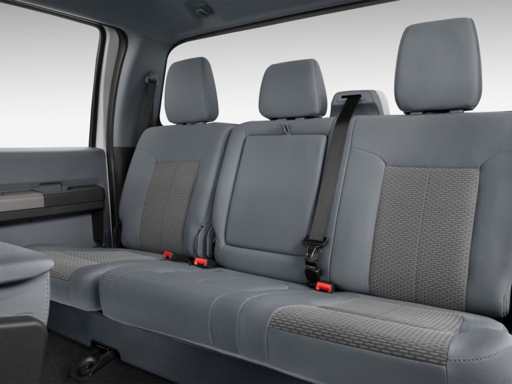 """Self Driving Cab >> Image: 2012 Ford Super Duty F-250 2WD Crew Cab 156"""" XLT Rear Seats, size: 1024 x 768, type: gif ..."""
